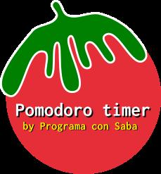 Pomodoro timer by Programa con Saba